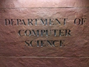 "Photo of the name ""Department of Computer Science"""