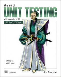 Book cover from The Art of Unit Testing