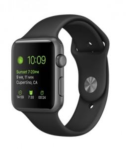 Apple watch - stock image